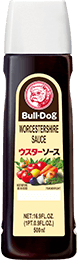 'BULL-DOG' WORCESTERSHIRE SAUCE 500㎖